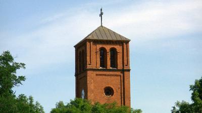 Wieża Kościoła  Rzym.-Kat. Parafia p.w. Najświętszej Maryi Panny