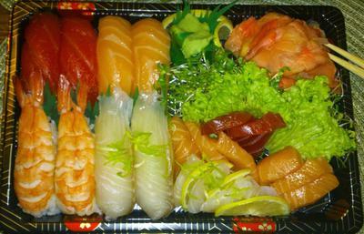 Jakaś inna porcja sushi