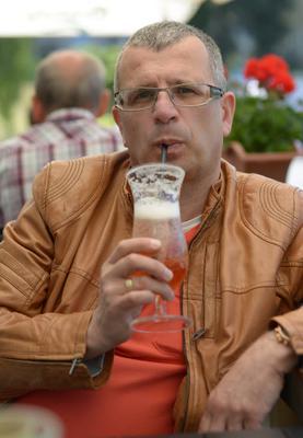 Zimne piwo w jakiejś Restauracji w Lądku