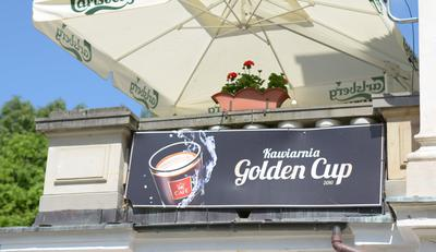 Kawiarenka Golden Cup w Wojciechu