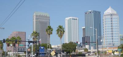 Wieżowce w Downtown Tampa FL