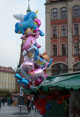 Zdjęcie zrobione na Placu Solnym we Wrocławiu