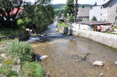 rzeka w Stroniu Śląskim