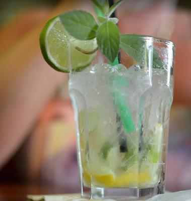 Drink oparty na Finlandii Limonkowej