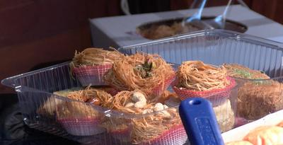 Baklava Gniazda - orzechy  włoskie,nerkowce, pistacje