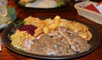 Obiad w Pubie Lissa